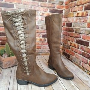 So Kohl's knee high riding boots 8.5